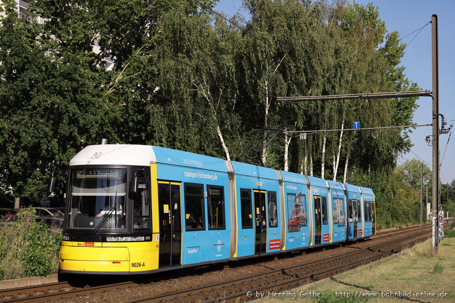 Flexity 9026 Altenhofer Straße